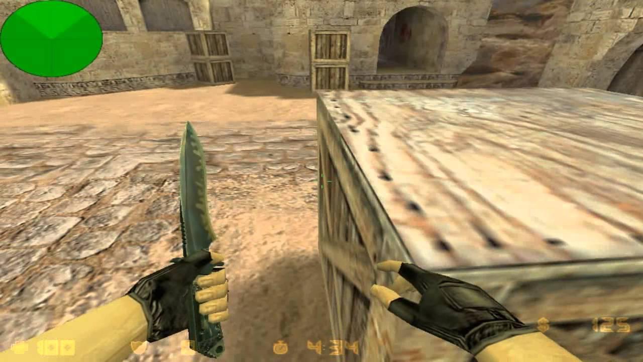 Нож ( knife ) модели для cs.