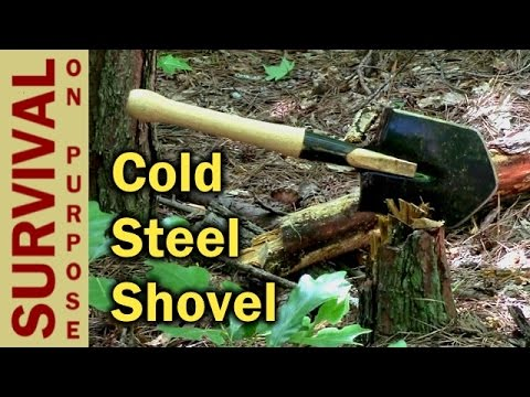 Cold Steel Special Forces Shovel Review - Survival Gear