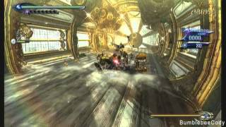 Wii U Capture Test/Bayonetta 2 combo fun