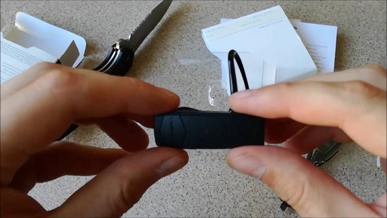 38d36d9cf50 Plantronics Explorer 10 Bluetooth Headset - unboxing - YouTube