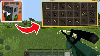 How To Make GUNS in Craftsman: Building Craft
