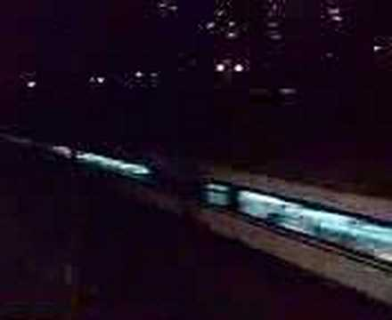 DF11 0025 tow T819 pass through Fanling Centre Bridge