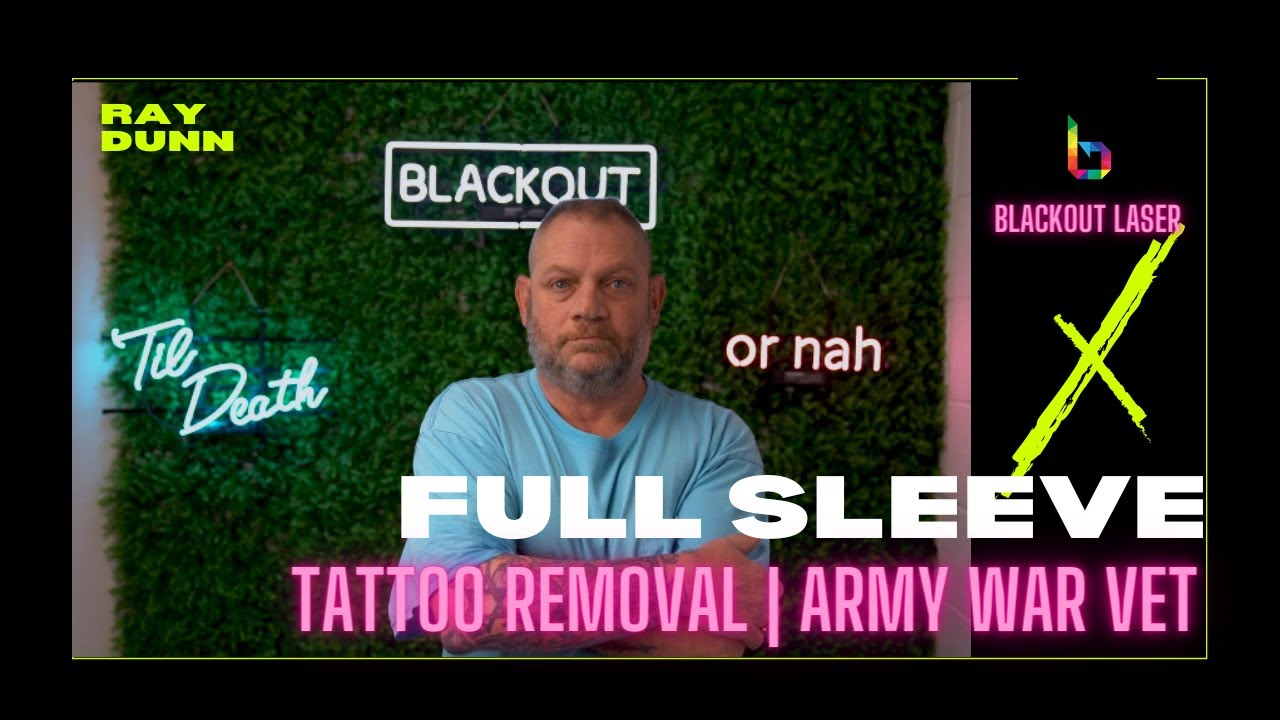 Project Blackout helps a veteran erase a difficult past with tattoo removal