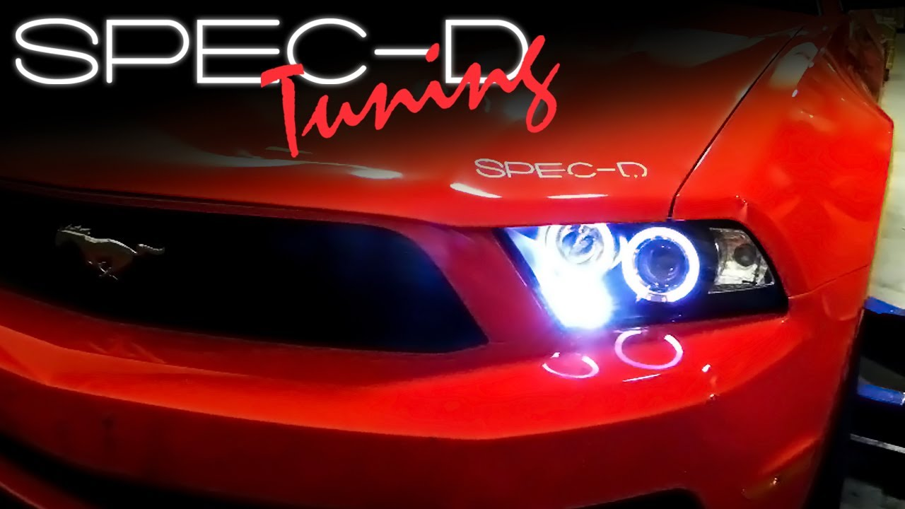 maxresdefault specdtuning installation video 2010 2014 mustang projector