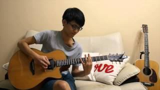 梁靜茹-情歌 (acoustic guitar solo)