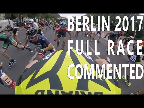 Berlin inline marathon 2017 full race with comments(pascal b