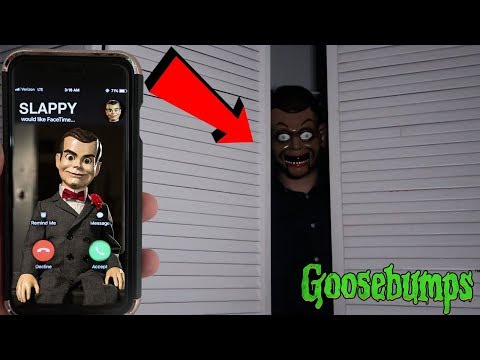 (THE CURSE OF SLAPPY) CALLING SLAPPY THE DUMMY ON FACETIME AT 3AM | DONT SUMMON SLAPPY AT 3AM