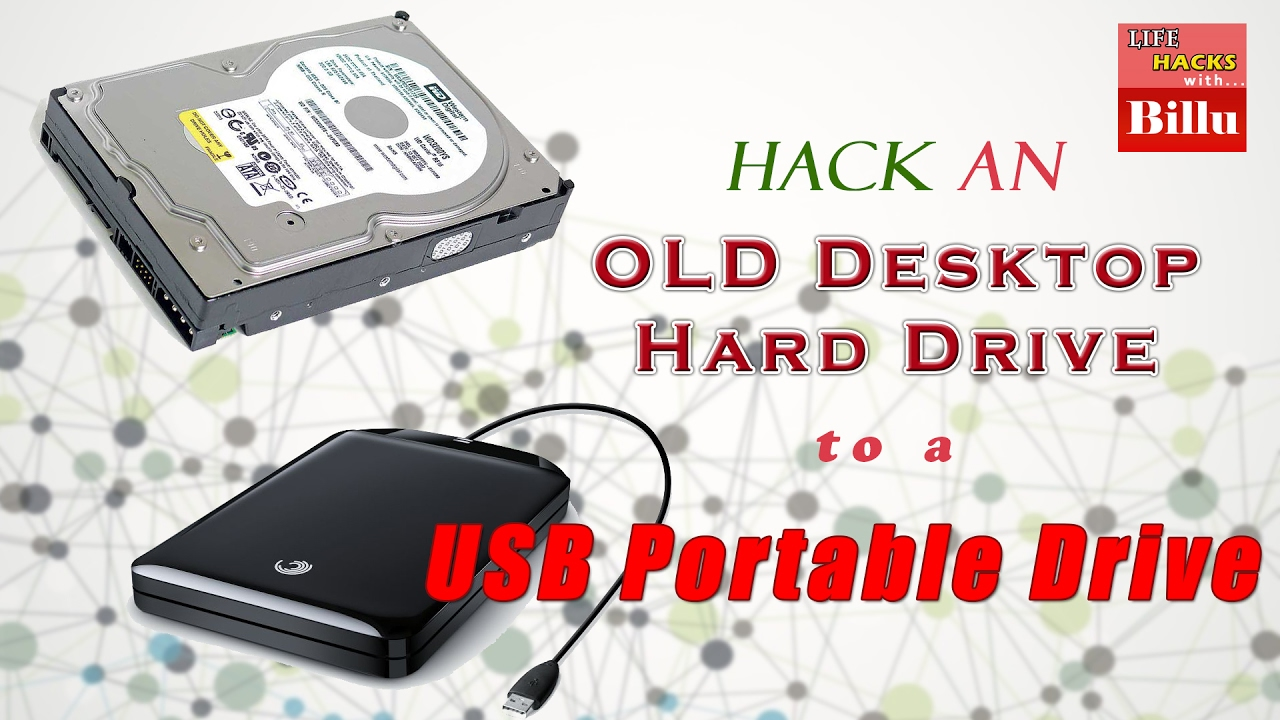 How To Use Old Desktop Hdd As Usb External Sata To Usb 3 5