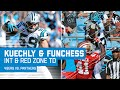 Luke Kuechly intercepts Blaine Gabbert which leads to a Funchess TD