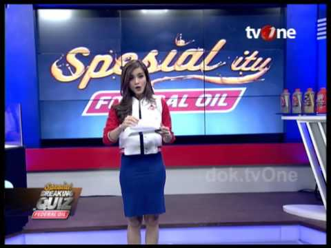 Spesial Breaking Quiz Federal Oil - Kabar Petang TV One 17/03/2016