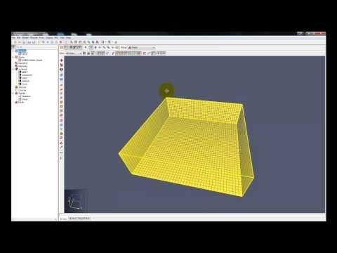 PyroSim FDS simple fire model (spread of smoke) - YouTube