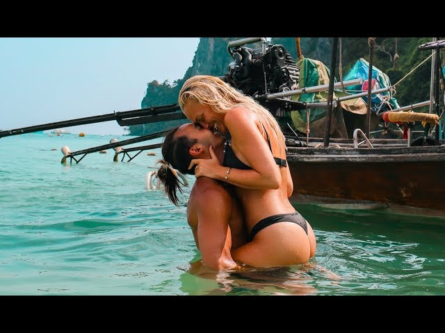VLOG THAILAND - Phi Phi islands med min pojkvän Mike och syster Sofi