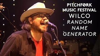 "Wilco perform ""Random Name Generator"" - Pitchfork Music Festival 2015"