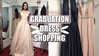GRADUATION DRESS SHOPPING 2018 | Ashlyn Abigail
