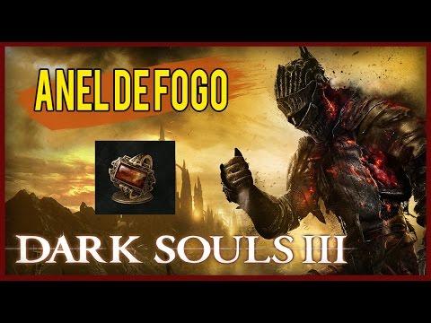 Dark Souls 3 - Flame Stoneplate Ring / Anel De Quartzo de Fogo