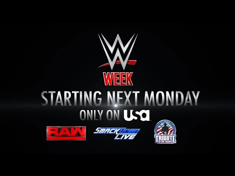 Don't miss WWE Week, returning to USA Network next week: SmackDown LIVE, Dec. 6, 2016