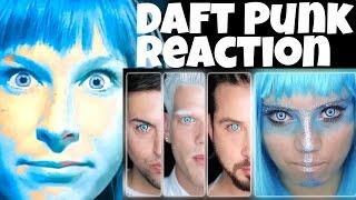 Repeat youtube video PENTATONIX - DAFT PUNK   REACTION