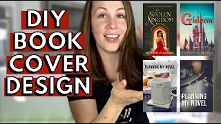 How to make a BOOK COVER in 5 STEPS | DIY Book Cover Design TUTORIAL to make your own Book Covers!