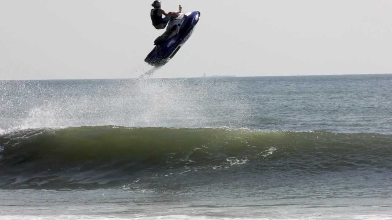 Jetski Gopro Surf Freestyle Hurricane Leslie Va Beach Jet Ski Waves The Red Hot Chilli Peppers