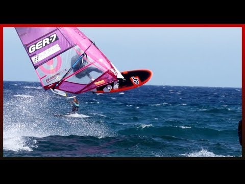 JUMPING with Slalom Gear in El Medano / Tenerife