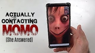 Real Life Momo Challenge (Very Scary) Calling Momo Caught on Camera