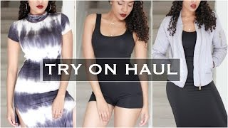 Early Fall Try On Haul for Petite Women | Rhiverxx, Asos, Fashion Nova & More | Style By Two