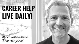 Live Career Advice Daily: Appreciation Week With Andrew Lacivita