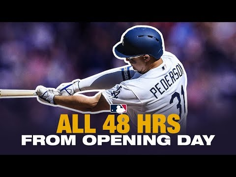 All 48 Home Runs from MLB Opening Day 2019