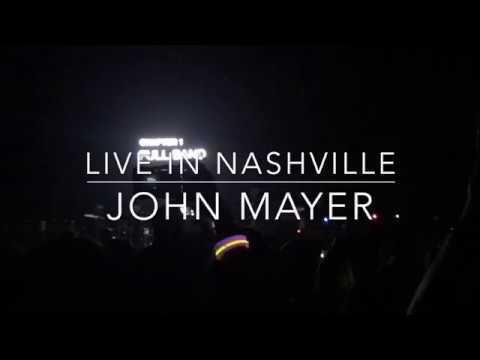 John Mayer   2017-08-08 Bridgestone Arena, Nashville TN (Full show)