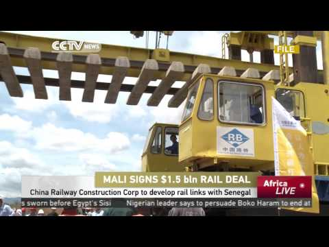 Mali signs $1.5 B rail deal with China Railway Construction Corp