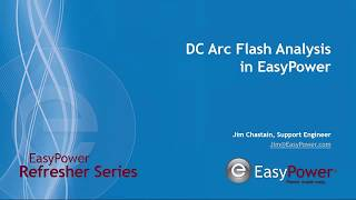 Video DC Arc Flash in EasyPower download MP3, 3GP, MP4, WEBM, AVI, FLV Desember 2017