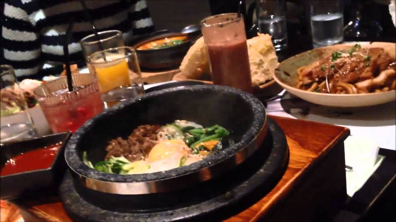 London street food 2 kimchi restaurant london youtube for 8 cuisine london ontario