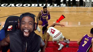 My First Ankle Breaker! Lakers vs Bulls NBA 2K20 MyCareer Ep 18