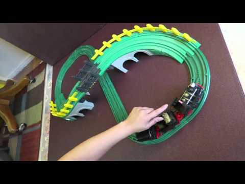 GeoTrax Sheffield & Jenkins Push Train By Fisher Price