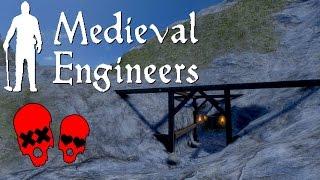 Monasteries/mining | Building Vader Hall #12 | Medieval Engineers