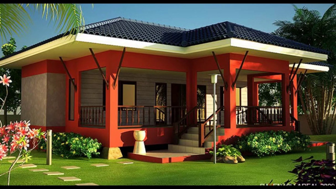Morden Bungalow House Design In The Philippines Youtube