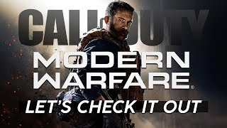 Call of Duty: Modern Warfare [BETA] | Let's Check It Out! [Live Archive]