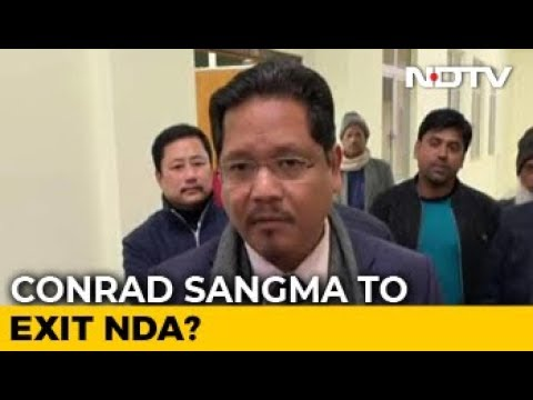 Will Discuss With Party On Snapping Ties With BJP: Conrad Sangma