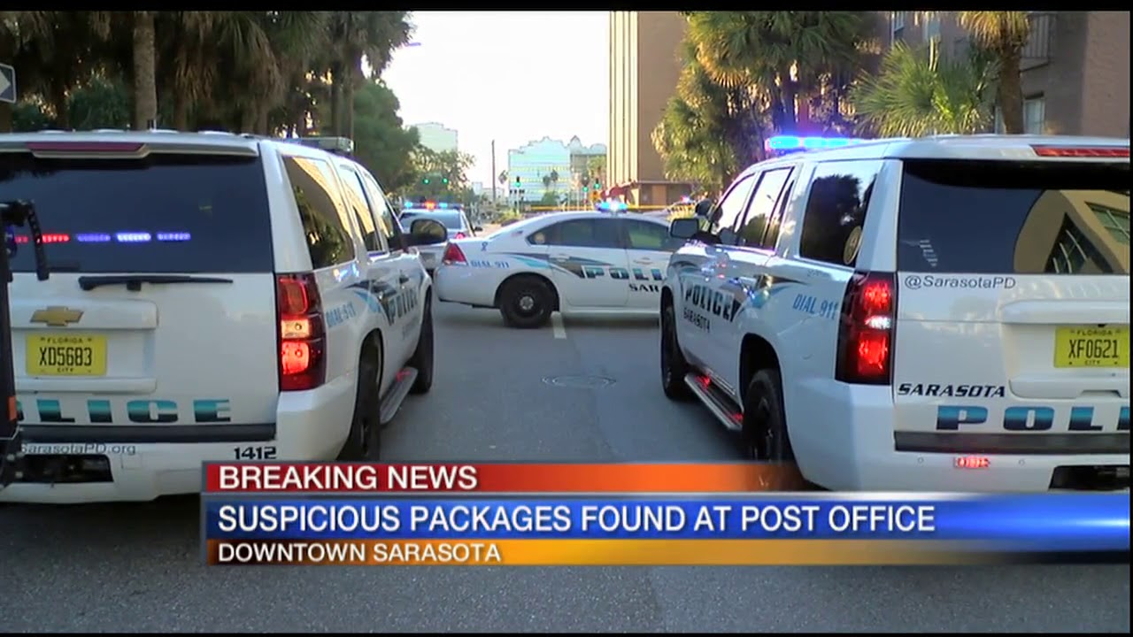 Video: Suspicious Packages Found At Post Office