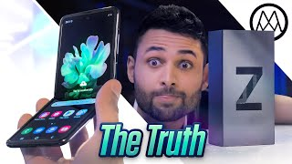 Samsung Galaxy Z Flip Unboxing - The Confusing Truth.