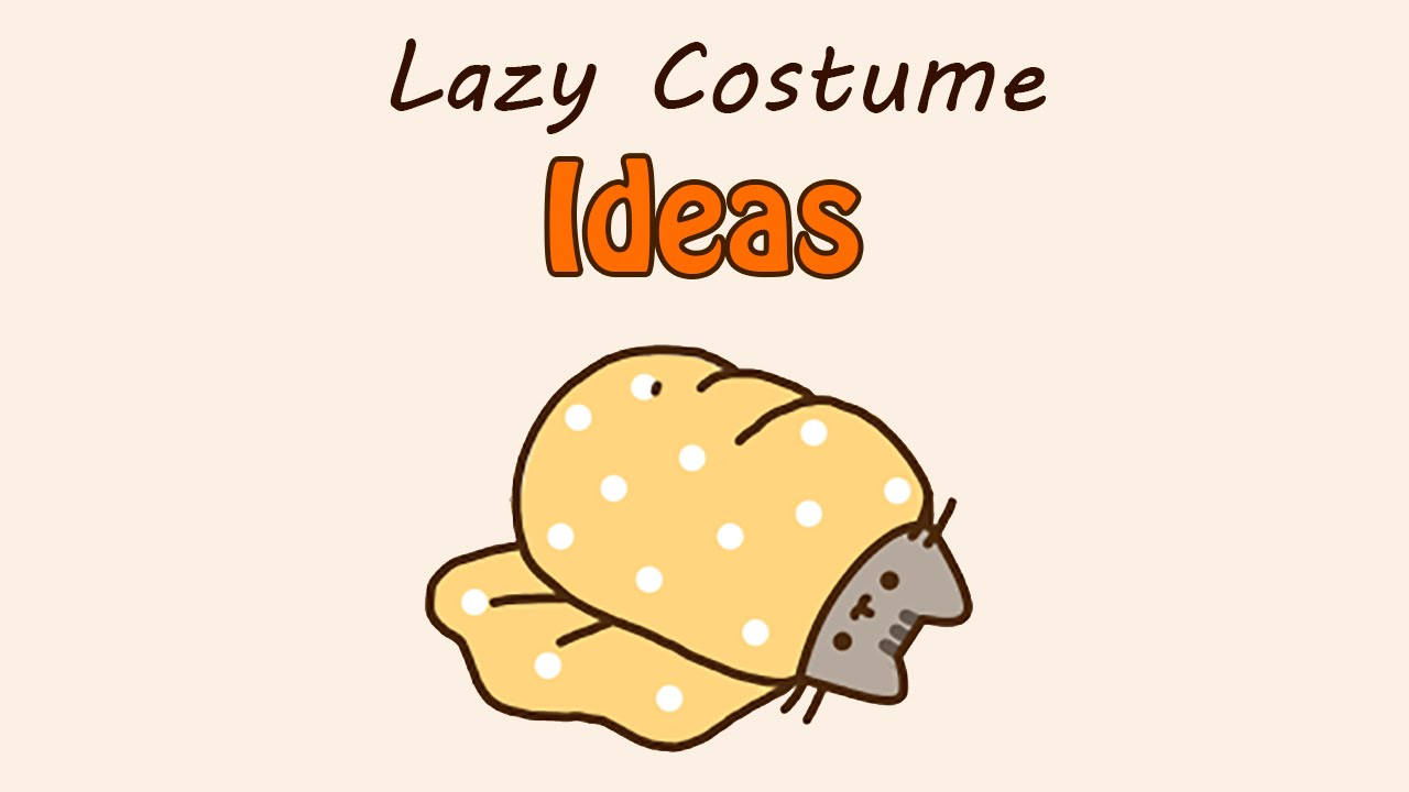 pusheens lazy costume ideas happy halloween 2014 youtube