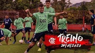 Treino do Flamengo - 24/01/2020
