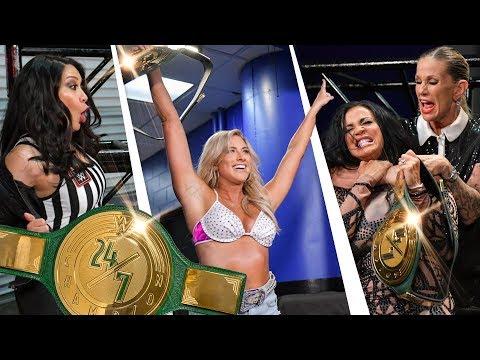 Candice Michelle vs. Mickie James vs. Carmella vs. Billie Kay vs. Nia Jax    Raw from YouTube · Duration:  13 minutes 12 seconds