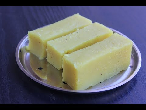 DELICIOUS HALWA MADE FROM KANJIVELLAM - BOILED RICE WATER - MAKE IT NOW