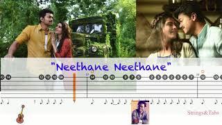 Neethane Neethane song Guitar notes