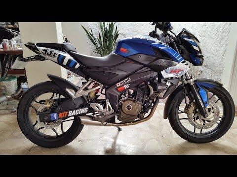 Les Presento Mi Moto    Pulsar 200 NS KIT Racing