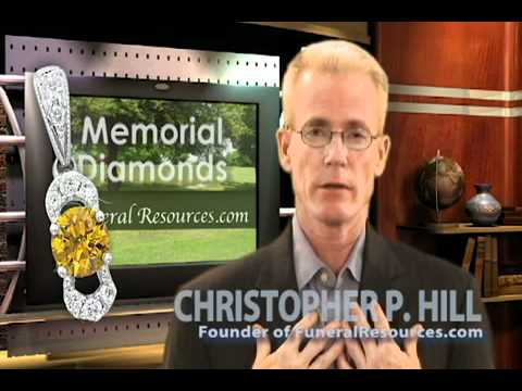 Memorial Diamond   New Funeral Memorial Service Option and Cremation Memorial Technology SaveYouTube com
