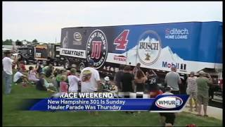 NASCAR invades New Hampshire for annual race weekend