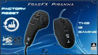 FACTORY RESET [DEUTSCH] - SUPPORT VIDEO FRAGFX PIRANHA PS4 - SPLITFISH GAMEWARE
