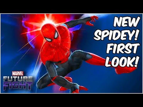 SPIDER-MAN: FAR FROM HOME FIRST LOOK!! SKILLS & MORE!! - Marvel Future Fight